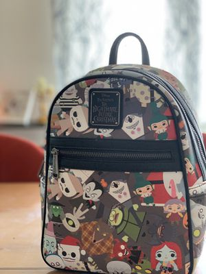 Loungefly Disney Nightmare Before Christmas Backpack NEW for Sale in Seattle, WA