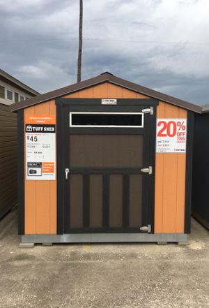 577 Tuff Shed display 8x12 SR600 was $2,856 Now $2,285 for Sale in Houston, TX