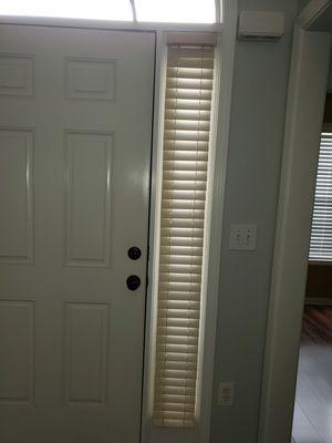 Faux Wood Front Door Blinds for Sale in Conyers, GA