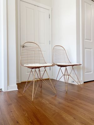 MODERN GOLD DINING CHAIRS for Sale in Ann Arbor, MI