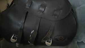 Harley-davidson saddlebags have brackets for a 2004 Sportster for Sale in Wareham, MA