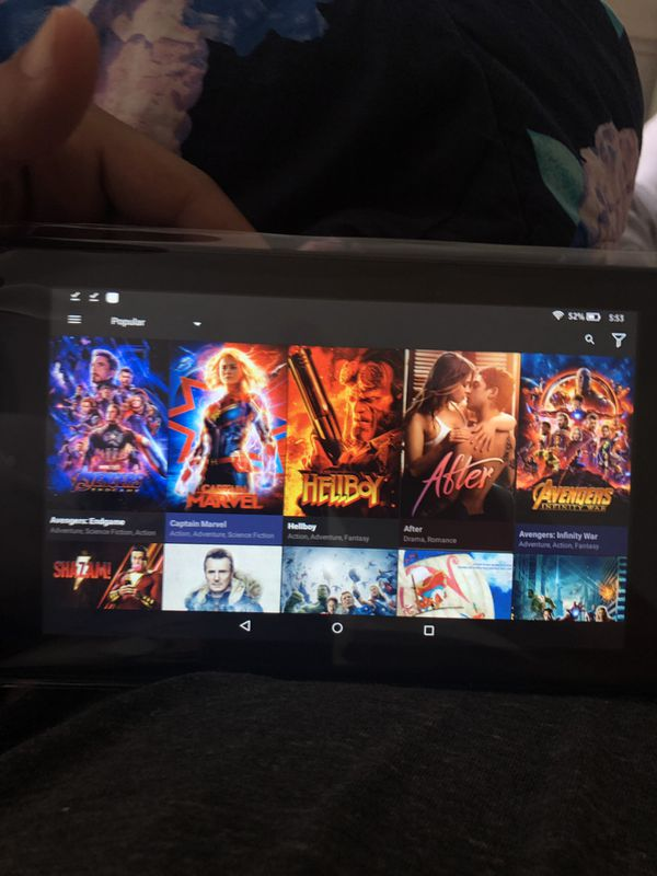 Fire TV Tablet
