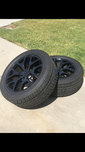 "GMC 22"" wheels for Sale in Chino, CA"
