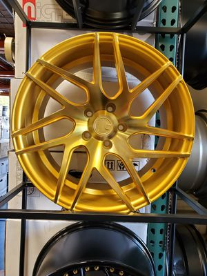 AODHAN LS08 WHEELS. 18×9. 5×114.3. GOLD. ACURA TL TSX RSX HONDA CIVIC ACCORD INSIGHT SCION XB TC SUBARU WRX STI LEXUS IS250 ES350 GS300 KIA OPTIMA for Sale in Sacramento, CA