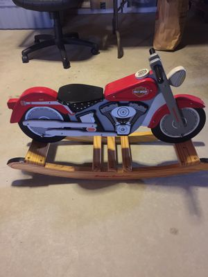 Harley Davidson Motorcycle Rocking Horse for Sale in Chicago, IL