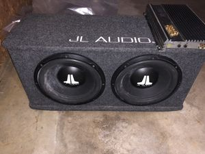 Jk audio subs + amp for Sale in Palatine, IL