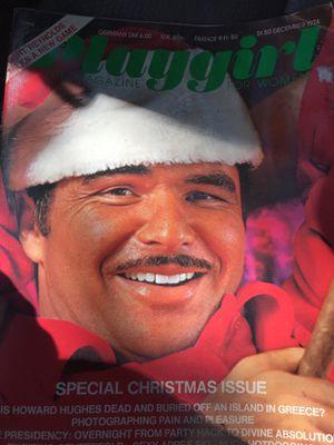 Burt Reynolds Playgirl magazine 1974 for Sale in Durham, NC