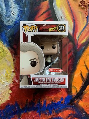 Funko POP! Marvel Ant-Man And The Wasp Janet Van Dyne #347 (Target) for Sale in Albuquerque, NM