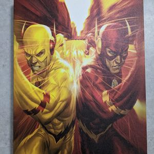The Flash Race Canvas Wall Art 16x20 for Sale in Portland, OR