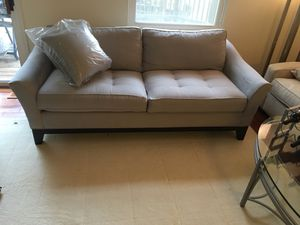 Couch - new -micro fiber- factory sealed cushion for Sale in NO POTOMAC, MD