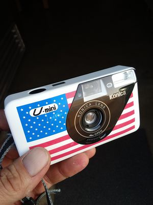RARE Vintage Konica U-Mini 35mm Film Point-n-shoot WORKS PERFECTLY! for Sale in Chino, CA
