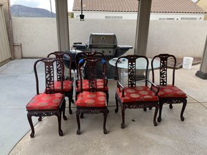 Dining Chairs - set of 6 for Sale in Henderson, NV