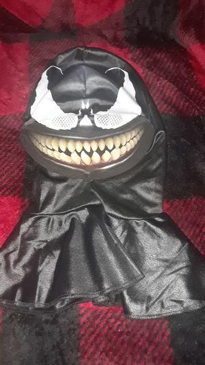 Venom mask with holographic smile for Sale in Sicklerville, NJ