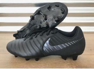 Nike Tiempo Legend 7 Academy FG Soccer Cleats Triple Black for Sale in Garden Grove, CA