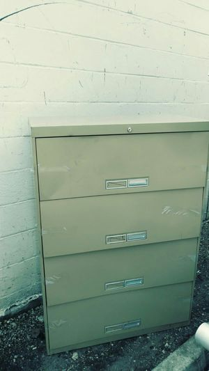 "4 Drawer File Cabinet 36"" Length x 18"" Width x 51 1/2"" Height for Sale in West Park, FL"