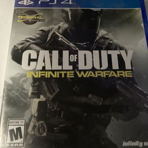 Call of duty infinite warfare (ps4) for Sale in Mesa, AZ
