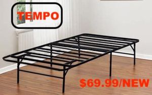 Tempo Collection 14 inch High Profile Platform Smart Base Bed Frame, Full for Sale in Downey, CA