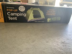 2 person pop up tent for Sale in Reno, NV