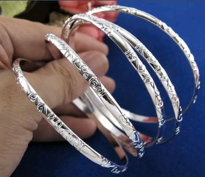 White Gold Filled 5pcs Bangle Bracelets for Sale in Silver Spring, MD