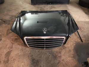 2003 Mercedes-Benz S Class Hood with Grille for Sale in Houston, TX