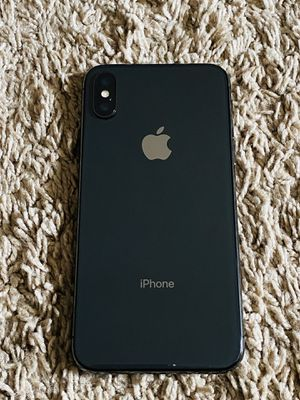 Apple iPhone X 256GB Space grey for Sale in Cary, NC