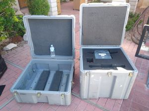 Pelican,Hardigg,rolling cases for Sale in North Las Vegas, NV
