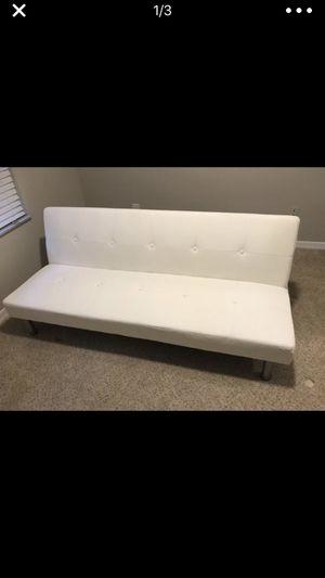 White Futon for Sale in Palm Beach, FL