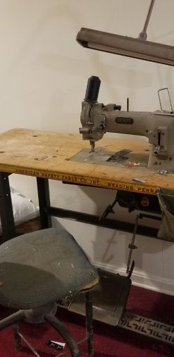 Vintage Pfaff Sewing Machine With Chair for Sale in Laurel,  MD
