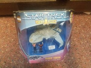 Maquis Fighter collectible action figure starship from Star Trek Strike Force for Sale in Leander, TX