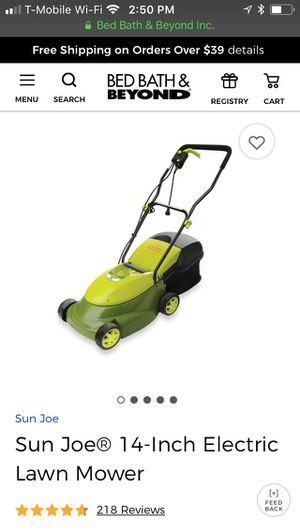 Brand new in box Electric Lawn mower for Sale in San Diego, CA