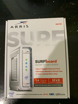Arris Xfinity Comcast Modem SB6190 for Sale in Fort Myers, FL