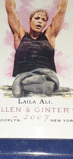 Laila Ali 2007 Allen And Ginter for Sale in Garland,  TX