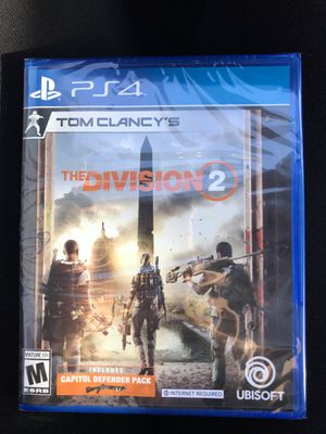 BRAND NEW Tom Clancy's The Division 2 PS4 for Sale in Virginia Beach, VA