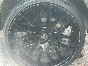 "(4) 22"" Versante Rims & Tires (255/30R22) for Sale in Dothan, AL"