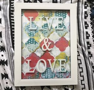 ❌NEW❌ IKEA Live Love Canvas Room Decor Wall hanging for Sale in Chesapeake, VA
