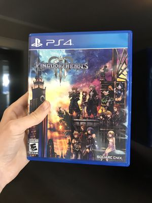 Kingdom Hearts 3 PS4 Game for Sale in San Diego, CA