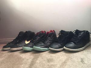 Custom Nike & Jordan Shoes Sz 10 and 11 for Sale in Los Angeles, CA