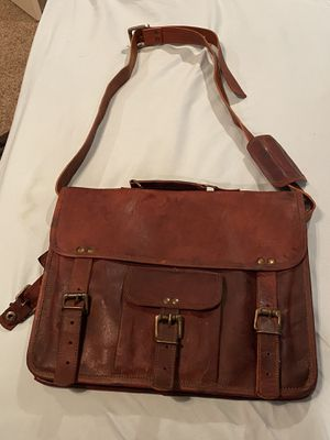 Leather Shoulder Laptop Bag for Sale in Amarillo, TX