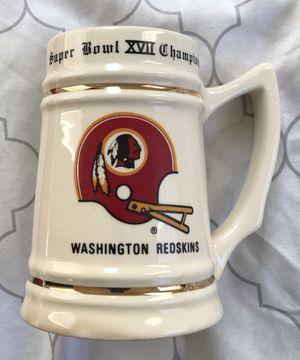 Super Bowl XVII Redskins Mug and vintage clock! $60 for Sale in Fort Washington, MD