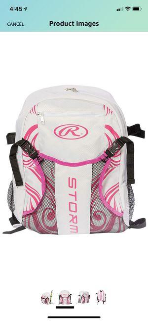 $5 .00 each 16 total Rawlings Storm Girls Youth Softball Bat Bag- Backpack for T-Ball & Softball Equipment for Sale in Suwanee, GA