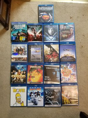 Lot of blue ray movies for Sale in Pittsburg, CA