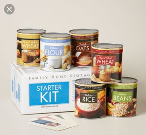 Family home storage starter kit. 30 year shelf life. $8 per can. for Sale in Brooklyn, NY