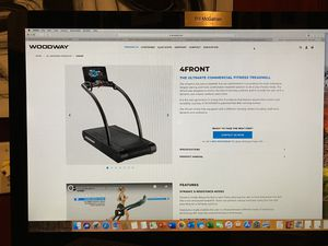 Woodway 4Front ultimate commercial fitness treadmill for Sale in Atlanta, GA