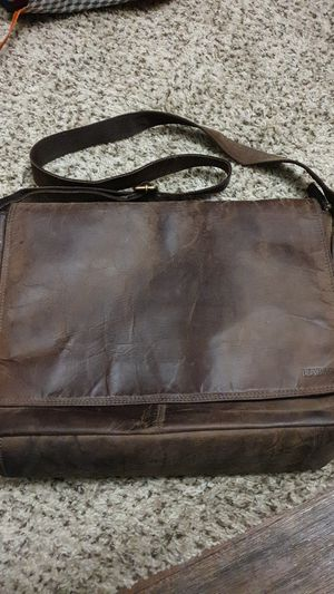 Real leather messenger bag for Sale in Austin, TX