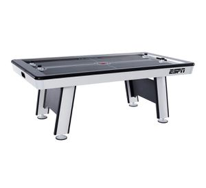 ESPN Premium 84 Inch Air Powered Hockey Table with LED Touch Screen Scorer, Gray, 7 Ft. for Sale in Austin, TX
