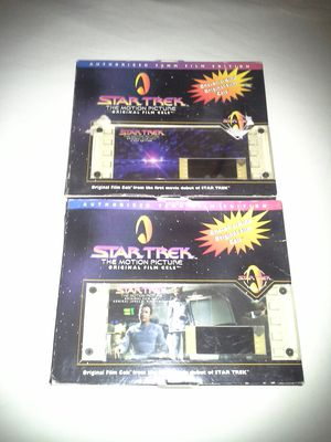 Star Trek The Motion Picture Original Film Cells Admiral James T Kirk Edition & V'Ger Edition Both New $10 Each for Sale in Reedley, CA