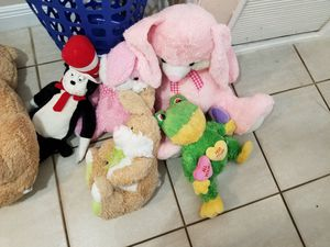 Stuffed animals lot cat in the hat for Sale in Plantation, FL