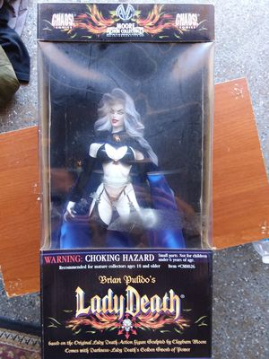 Moore Collectibles Lady Death Action Figure for Sale in San Pedro, CA