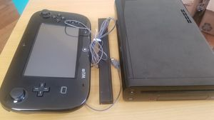 Nintendo Wii U and Game Pad (No charger for gamepad) for Sale in New Haven, CT