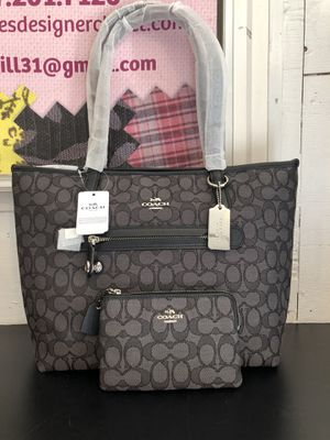 Coach Tote And Wallet Set for Sale in Acton, ME
